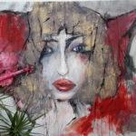 Nicole Sebille - Le Lecon de Violion 54x82